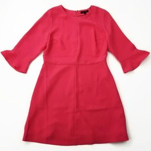 Banana Republic Dress Bell Sleeves Pink  Size 12